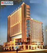 Omaxe 5 Star Hotel Mullanpur Office Space | 12% Assured Return