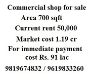commercial shop at best price for sale