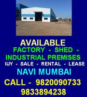 Engineering Factory Shed Navi Mumbai Industrial Premises Taloja Seller